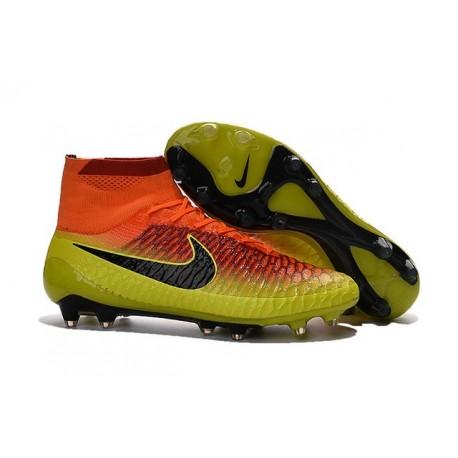 Top Football Boots 2016 Nike Magista Obra FG Crimson Citrus Black