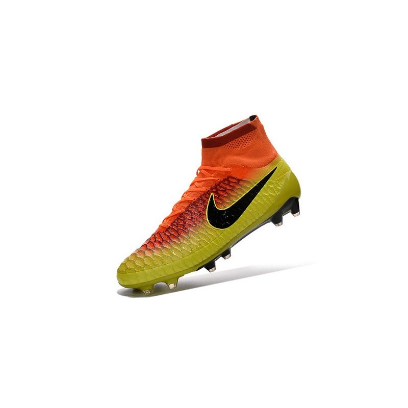 Top Football Boots 2016 Nike Magista Obra FG Crimson Citrus Black