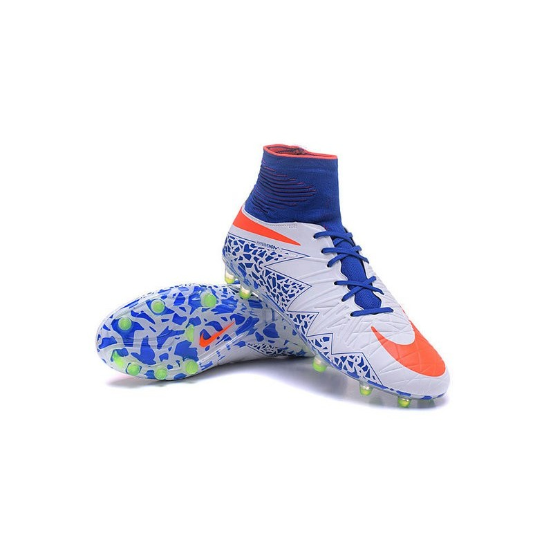 eeb27ee99 Neymar Football Cleats Nike Hypervenom Phantom II FG White Red Blue