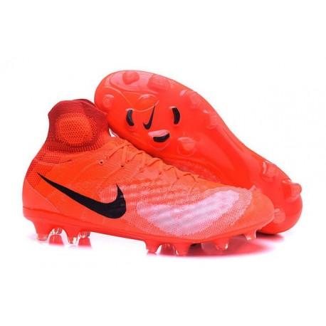 New Nike Magista Obra II FG ACC Soccer Cleats Orange Black