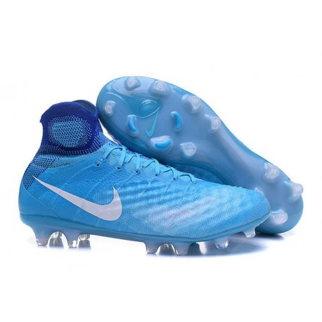 newest 7ab3e 27f75 New Nike Magista Obra II FG ACC Football Shoes Blue