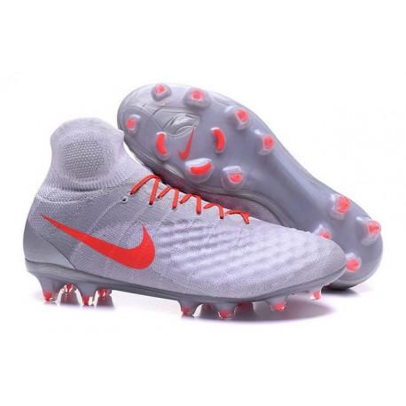 Nike Magista Obra 2 FG Mens Top Football Shoes White Orange