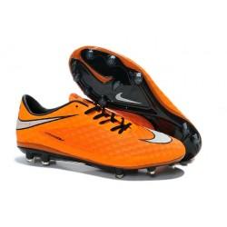 Neymar's Nike HyperVenom Phantom FG ACC Cleats Orange White