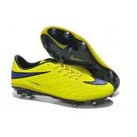 New Men Nike HyperVenom Phantom Premium FG ACC Shoes Volt Persian Violet