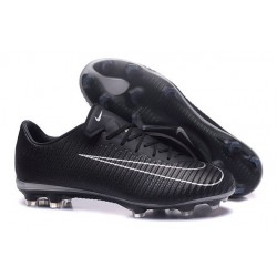 Nike Mercurial Vapor XI FG Firm Ground Soccer Shoes Black White