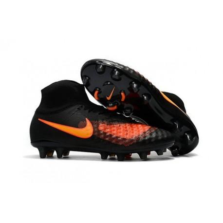 Nike Magista Obra 2 FG New Soccer Boots in Black Orange