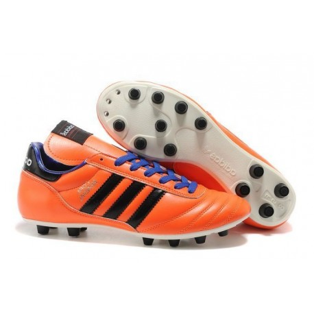 adidas Copa Mundial FG K-Leather Football Shoes Solar Zest