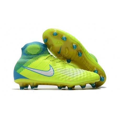 Nike Magista Obra 2 FG New Soccer Boots Volt Blue