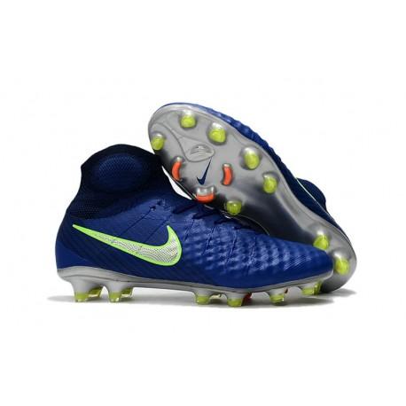 Top Nike Magista Obra II FG 2017 Mens Football Shoes Dark Blue