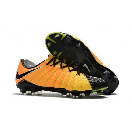 Nike Hypervenom Phantom III Low-cut New Boots Yellow Black