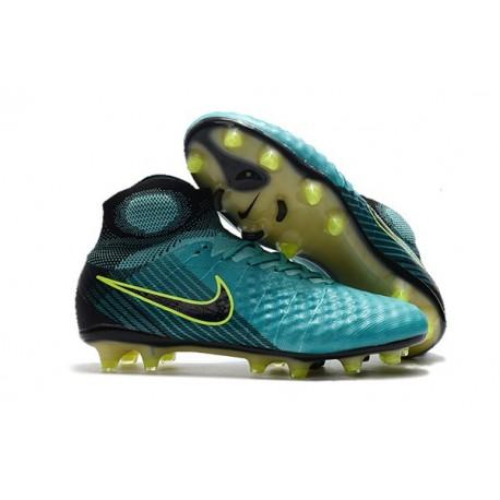 Top Nike Magista Obra II FG 2017 Mens Football Shoes Blue Black