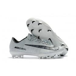 Nike Mercurial Vapor XI FG ACC Ronaldo CR7 White Black Soccer Boots