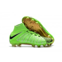 Nike Hypervenom Phantom 3 FG ACC Cleats - Green Black
