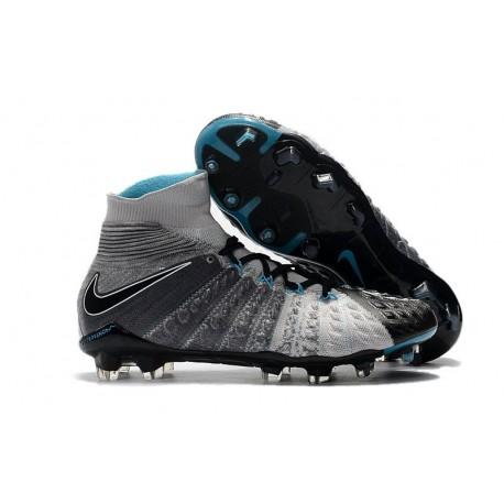 Nike Hypervenom Phantom 3 FG ACC Cleats - Grey Black