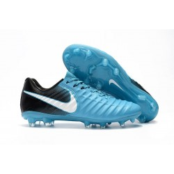 Nike Tiempo Legend VII FG ACC Mens Soccer Cleats - Blue Black