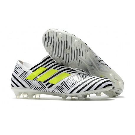 adidas Nemeziz Messi 17+ 360 Agility FG White Black Yellow