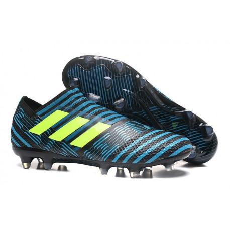 adidas Nemeziz Messi 17+ 360 Agility FG Black Blue Yellow