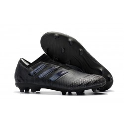 adidas Nemeziz Messi 17+ 360 Agility FG Mens Boots - All Black