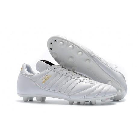 adidas Copa Mundial FG K-Leather Football Shoes Full White