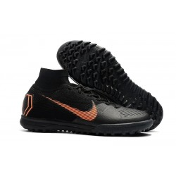 Nike Mercurial Superfly X 6 Elite TF Boots Black Orange