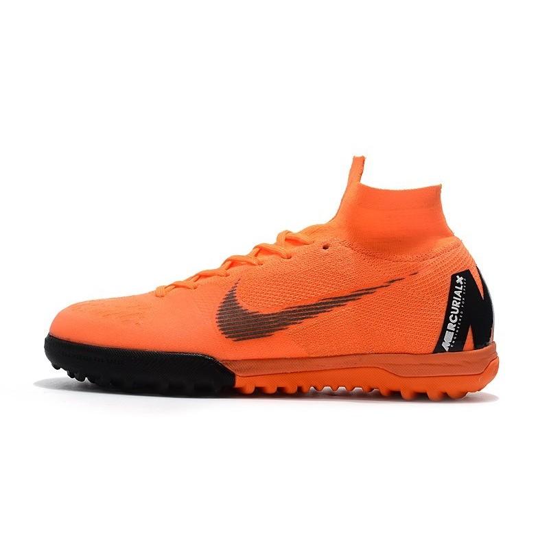 Completo adolescente Inspección  Nike Mercurial Superfly X 6 Elite TF Boots Orange Black