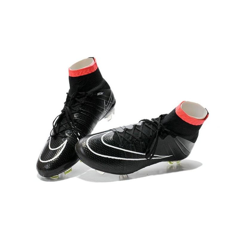 promo code 67c1b d793c Top Nike Mercurial Superfly FG ACC Soccer Cleat Black White