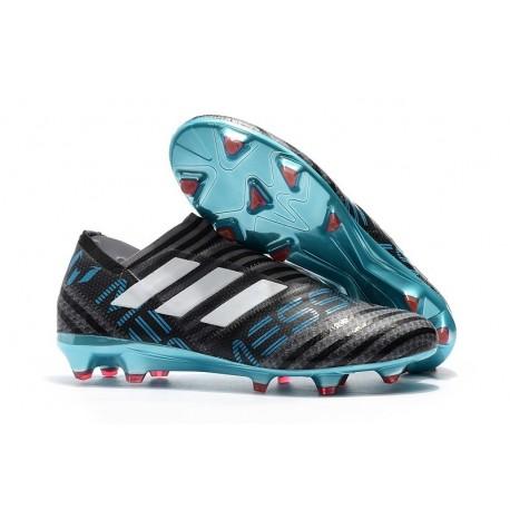 adidas Nemeziz Messi 17+ 360 Agility FG Mens Boots - Black Blue White