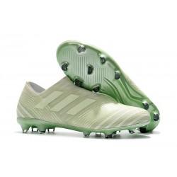 adidas Nemeziz Messi 17+ 360 Agility FG Mens Boots - Green White