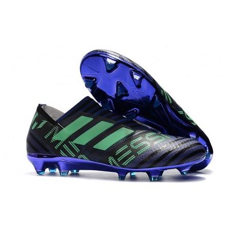adidas Nemeziz Messi 17+ 360 Agility FG Mens Boots - Black Purple Green