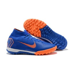 Nike Mercurial SuperflyX 6 360 Elite TF Boots - Blue Orange