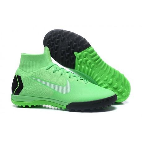Nike Mercurial SuperflyX 6 360 Elite TF Boots - Green Black