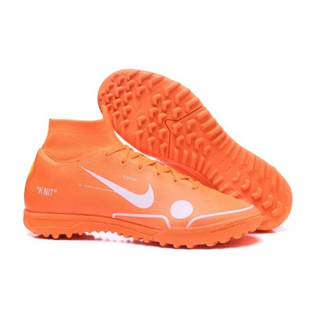 Nike Mercurial SuperflyX 6 360 Elite TF Boots - Orange White