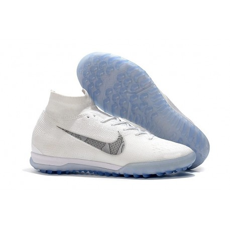 Nike Mercurial SuperflyX 6 360 Elite TF Boots - White Blue