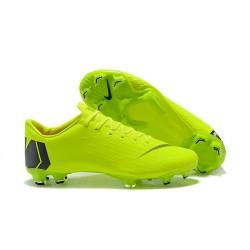 Nike Mercurial Vapor XII Mens FG Football Boots - Green Black