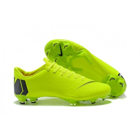 Nike Mercurial Vapor XII Mens FG Football Boots - Green Black