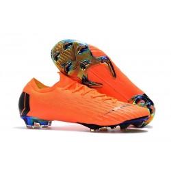 Nike Mercurial Vapor XII Men's FG Football Boots - Orange Black