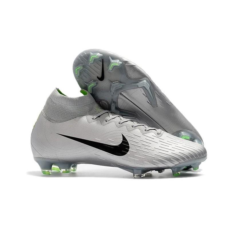 Carnicero Cerdo Dalset  Nike Mercurial Superfly VI 360 Elite FG Soccer Cleats - Silver Black