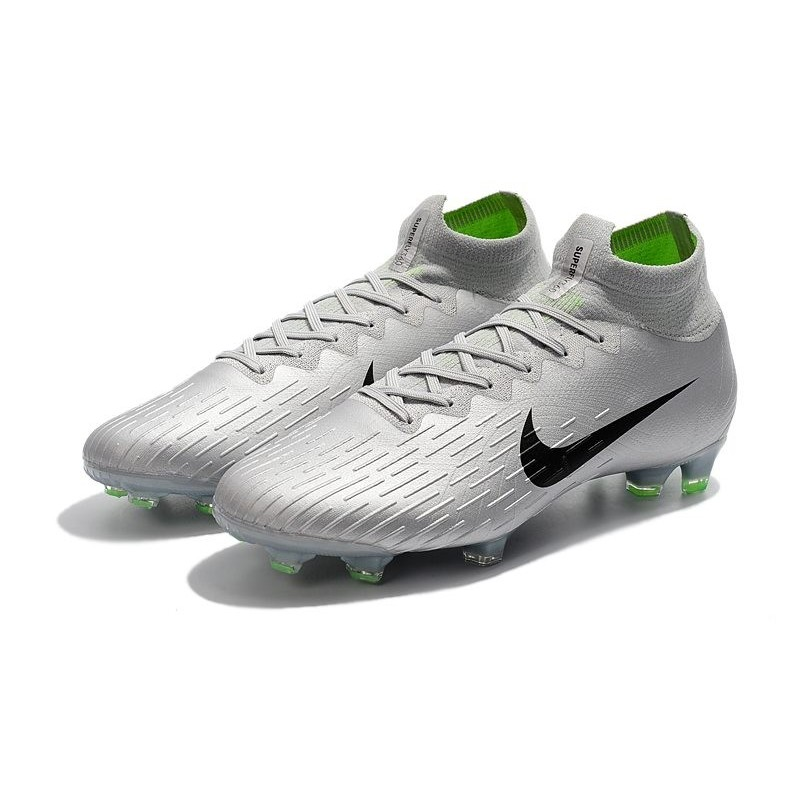 ef9baebda73 Nike Mercurial Superfly VI 360 Elite FG Soccer Cleats - Silver Black  Maximize. Previous. Next