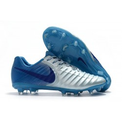 Nike Tiempo Legend 7 FG Kangaroo Leather - Silver Blue