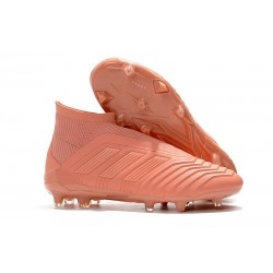 adidas New Predator 18+ FG Soccer Cleats in Pink