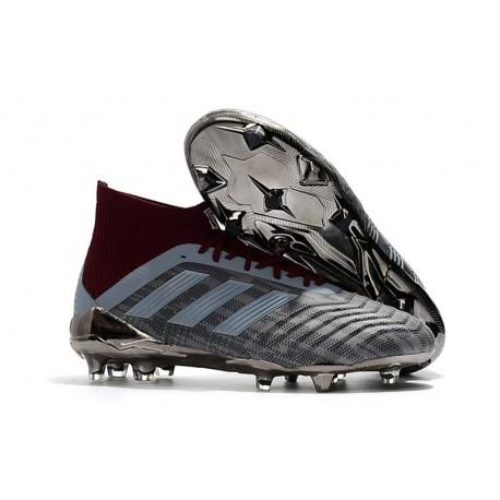 Paul Pogba adidas PP Predator 18.1 FG Iron Metallic