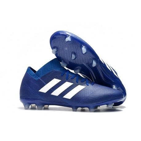 adidas World Cup 2018 Messi Nemeziz 18.1 FG - Blue White
