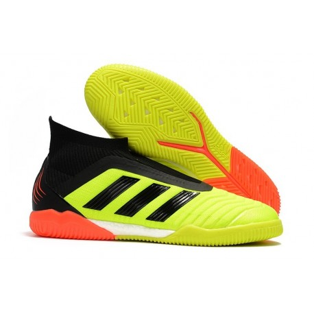 adidas PP Predator Tango 18+ IN Football Boots Yellow Orange Black