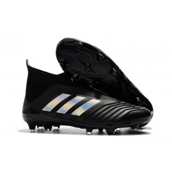 adidas New Predator 18+ FG Soccer Cleats Black Silver