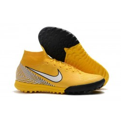 Neymar Nike Mercurial SuperflyX 6 360 Elite TF Boots - Yellow White