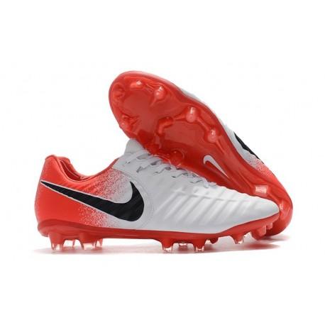 Nike Tiempo Legend 7 FG Kangaroo Leather - White Red