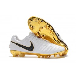 Nike Tiempo Legend 7 FG Kangaroo Leather - White Gold