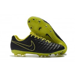 Nike Tiempo Legend VII FG Men's Soccer Cleats - Black Yellow