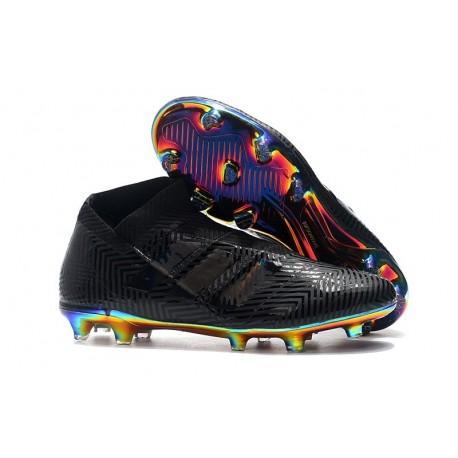 New Adidas Nemeziz 18+ FG Soccer Boots - Black