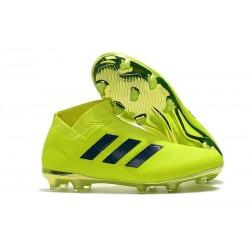 New Adidas Nemeziz 18+ FG Soccer Boots - Green Black